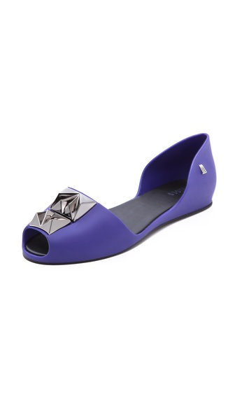 Melissa Fresh Bloom II Studded Flats