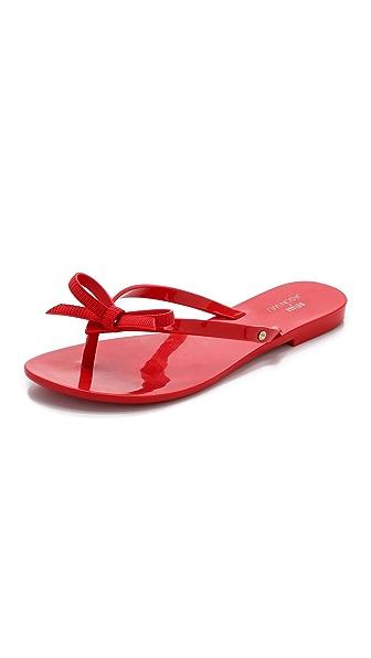 Melissa Melissa Melissa + Jason Wu Harmonic Flip Flops (Red)