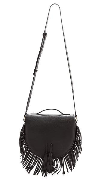 Meli Melo Meli Melo Tallulah Fringe Messenger Bag (Black)