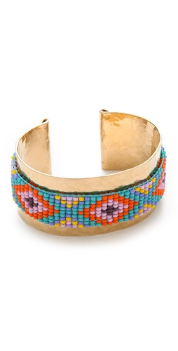 Mercedes Salazar Beaded Cuff