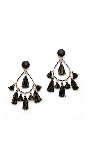 Mercedes Salazar Chandelier Thread Earrings