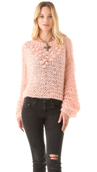Mes Demoiselles Russel Pom Pom Sweater