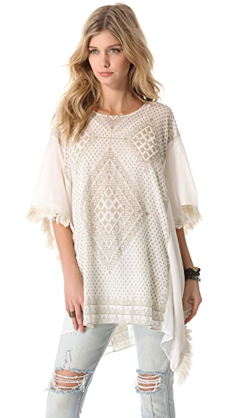 Mes Demoiselles Cocktail Fringe Poncho