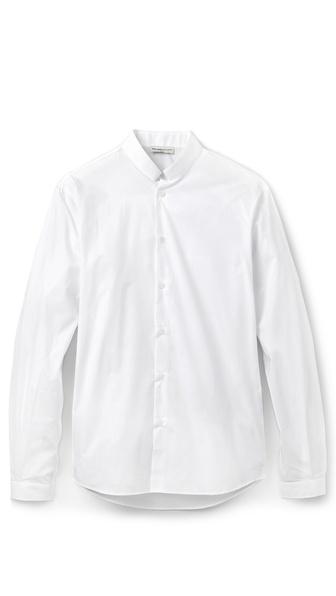 MELINDAGLOSS Officer Collar Shirt