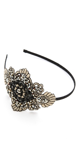 Marie Hayden Side Applique Headband at Shopbop / East Dane