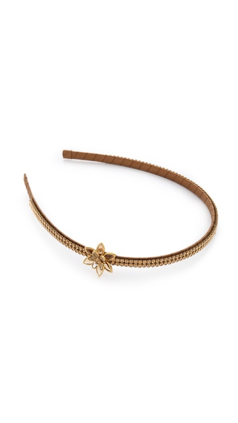 Marie Hayden Swarovski Side Flower Headband