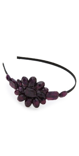 Marie Hayden Beaded Headband at Shopbop / East Dane