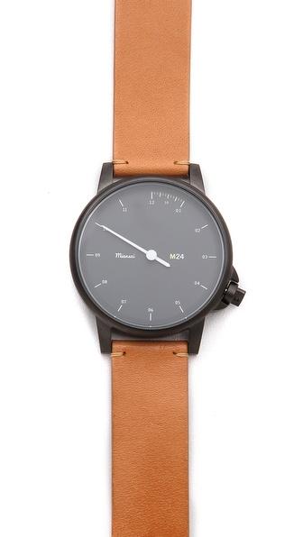 Miansai M24 Noir Dial Watch