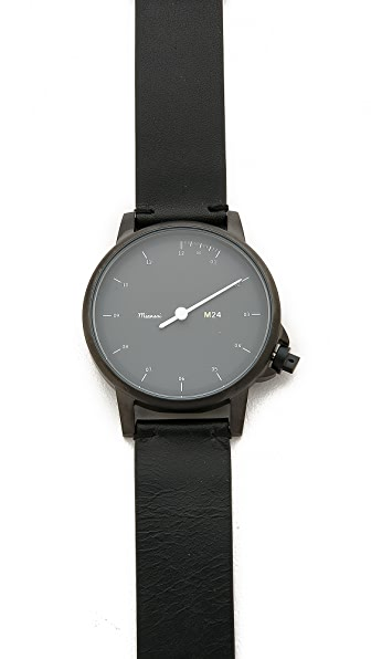 Miansai M24 Noir Dial Watch