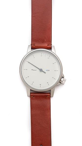 Miansai M24 White Dial Watch