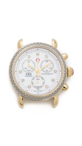 MICHELE CSX-36 Diamond Dial Watch