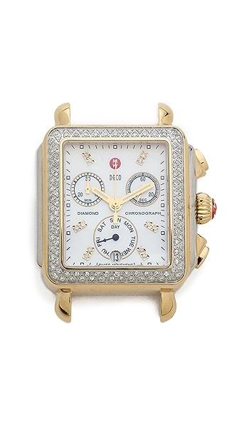 Diamond Diamond Deco Diamond Dial Watch (Multicolor)