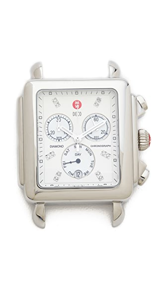 MICHELE Deco XL Dial Watch