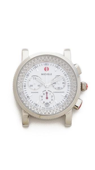 MICHELE Sport Sail Diamond Dial Watch
