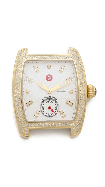 MICHELE Urban Mini Diamond Dial Watch