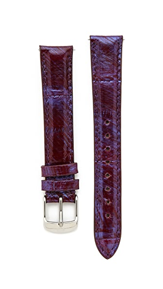 MICHELE 16mm Snakeskin Watch Strap