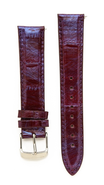 MICHELE 18mm Snakeskin Watch Strap