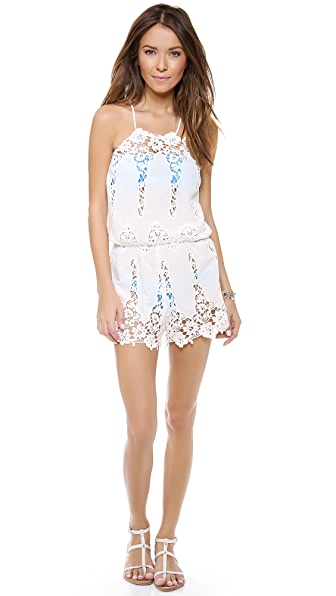 Miguelina Cicely Cotton Romper