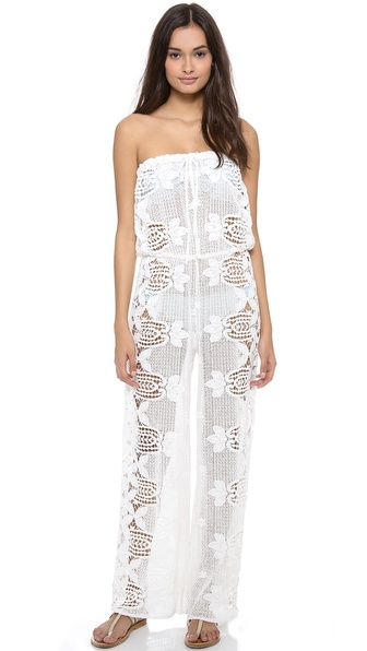 Miguelina Piper Jumpsuit Cover Up