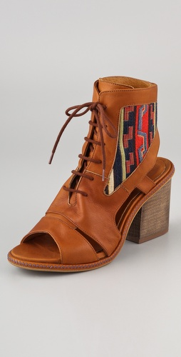 Miista Andrea Open Toe Booties