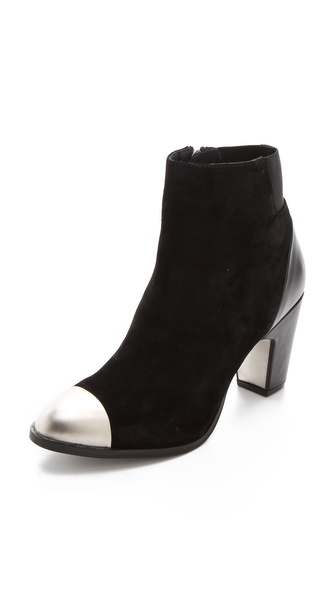 Miista Mansi Cap Toe Booties