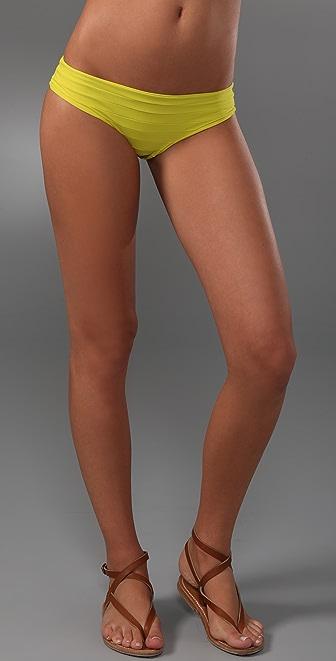 MIKOH St. Tropez Banded Bikini Bottoms