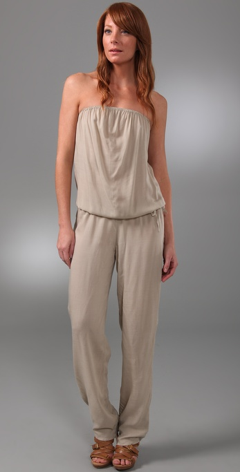 MIKOH SWIMWEAR Port Elizabeth Cover Up Jumpsuit