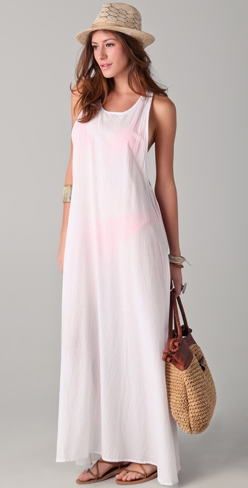 MIKOH SWIMWEAR French Riviera Long Dress
