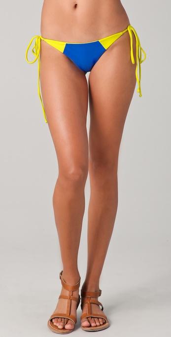 MIKOH SWIMWEAR Waimea Bikini Bottoms
