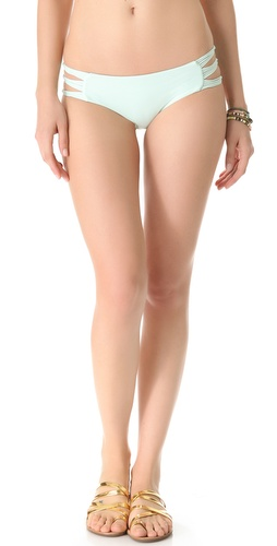 MIKOH SWIMWEAR Velzyland Tie Side Bikini Bottoms