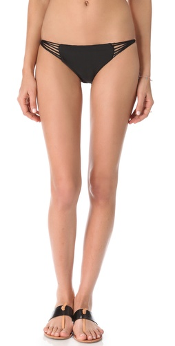 MIKOH SWIMWEAR Lanai Loop Side Bikini Bottoms