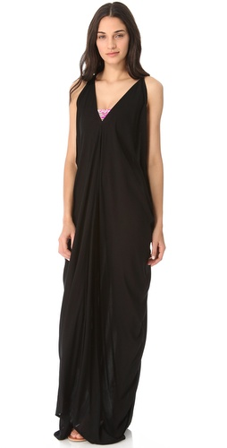 MIKOH SWIMWEAR Ala Moana Cover Up Maxi Dress