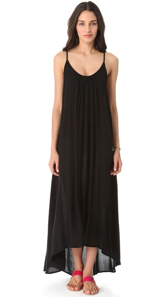 MIKOH Cover Up Maxi Dress with Low Back