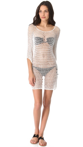 MIKOH SWIMWEAR Kandui Crochet Cover Up
