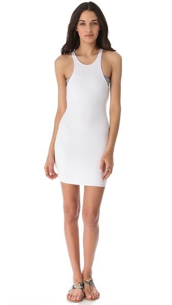 MIKOH SWIMWEAR Honolua Cover Up Mini Dress