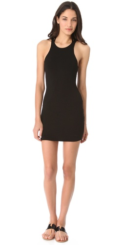 MIKOH SWIMWEAR Honolua Cover Up Mini Dress