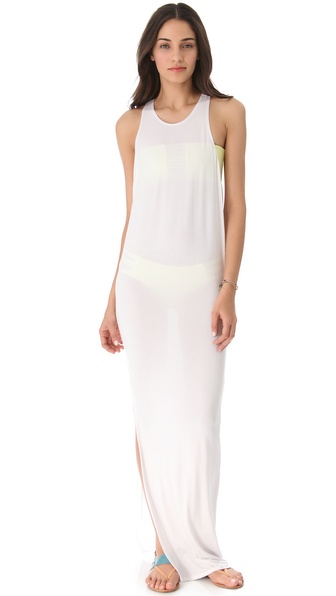 MIKOH SWIMWEAR Mavericks Cover Up Maxi Dress