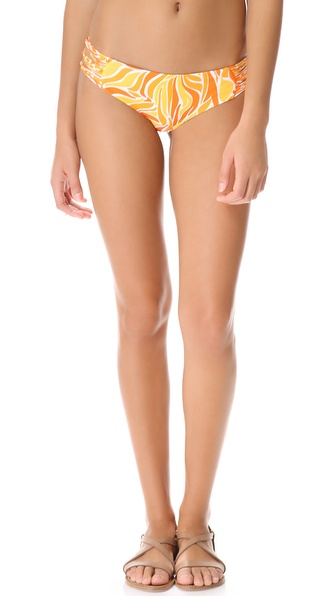MIKOH SWIMWEAR Velzy Land Bikini Bottoms