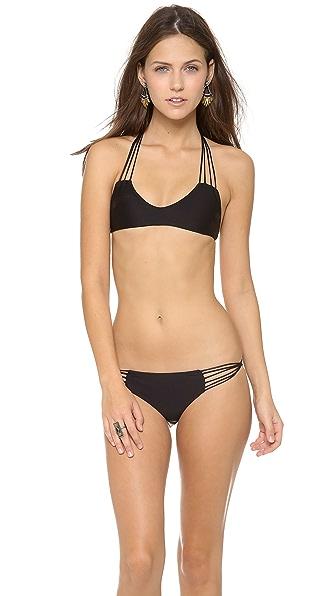 MIKOH Banyan Racer Back Bikini Top
