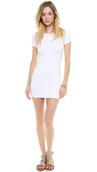 MIKOH SWIMWEAR Bermuda Mini Cover Up Dress