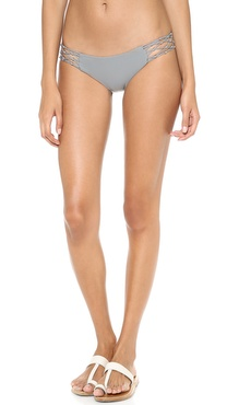 MIKOH SWIMWEAR Rockies Crochet Side Bikni Bottoms