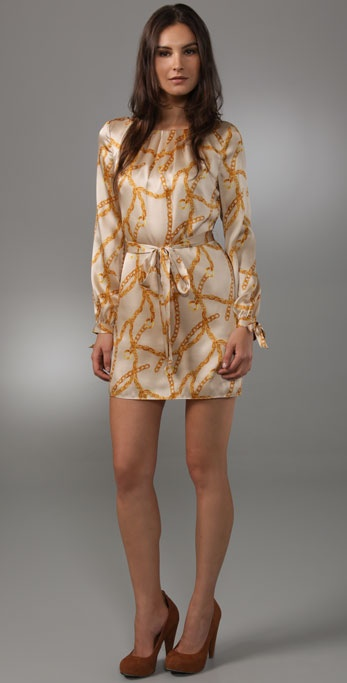 Milly Simone Sleeve Dress