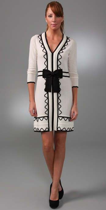 Milly Valentina Sweater Dress