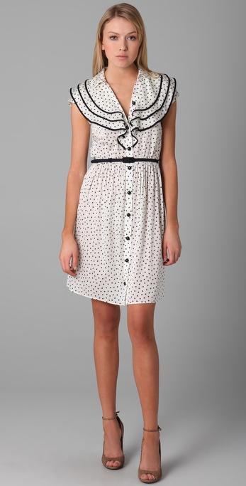 Milly Alli Star Print Dress