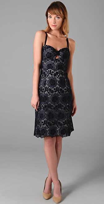Milly Peek-A-Boo Ari Dress