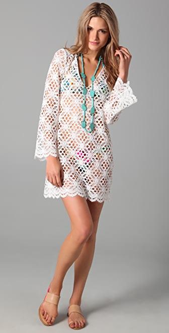 Milly Mykonos Crochet Tunic