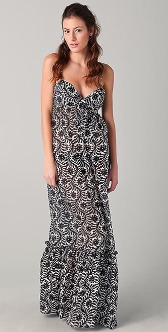 Milly Eden Roc Hostess Cover Up Dress