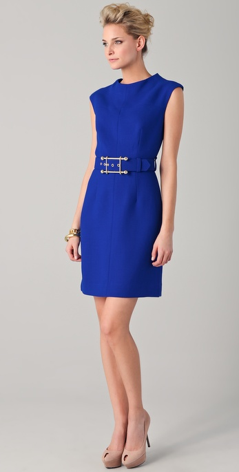 Milly Belted Joanne Dress