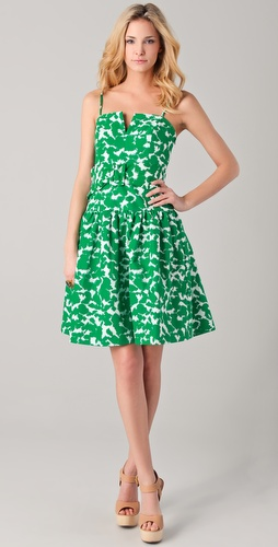 Milly Sarah Twirl Print Dress