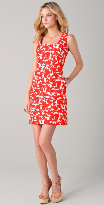 Milly Jane Print Sheath Dress